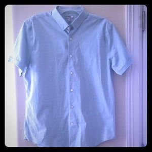 Express Fitted Collared Shirt